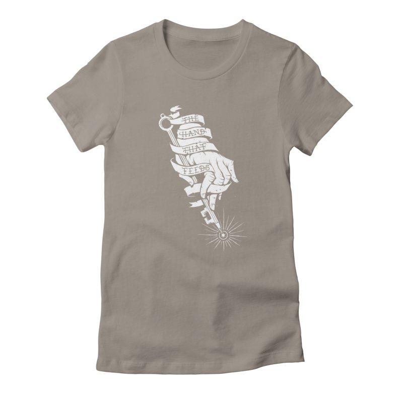 The Hand Women's T-Shirt by cuban0's Artist Shop