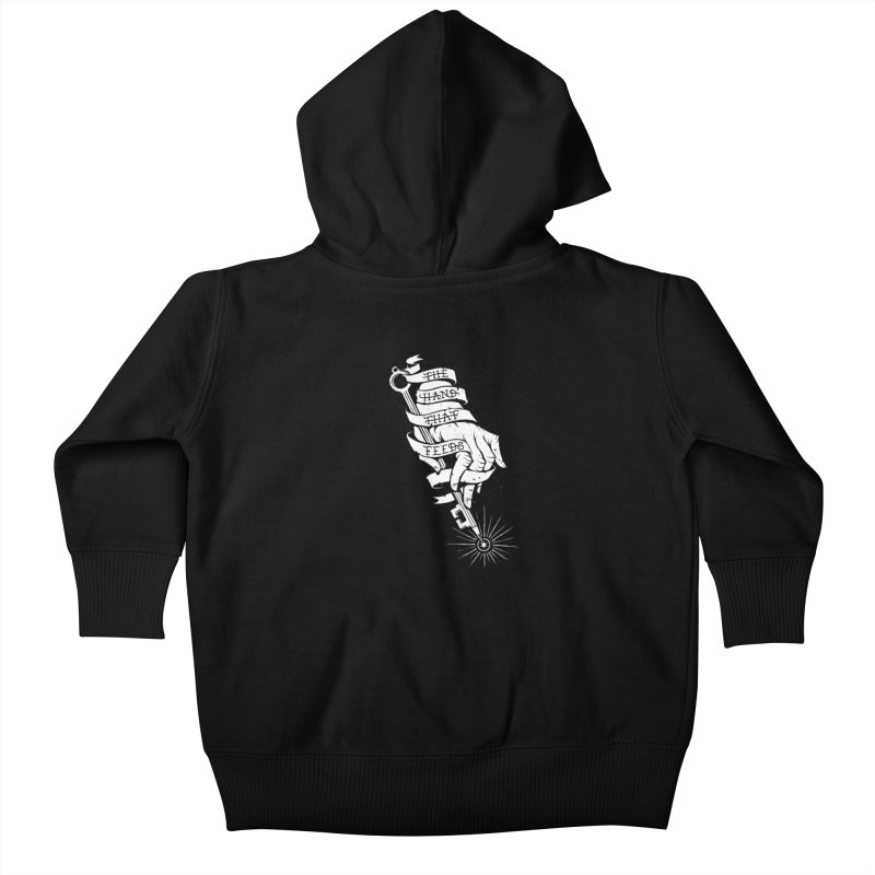 The Hand Kids Baby Zip-Up Hoody by cuban0's Artist Shop