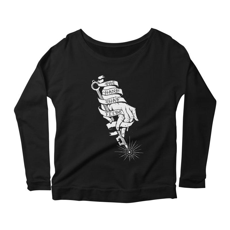 The Hand Women's Scoop Neck Longsleeve T-Shirt by cuban0's Artist Shop