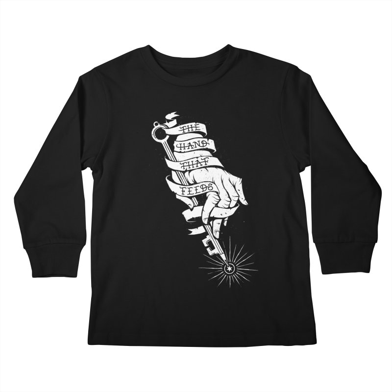 The Hand Kids Longsleeve T-Shirt by cuban0's Artist Shop