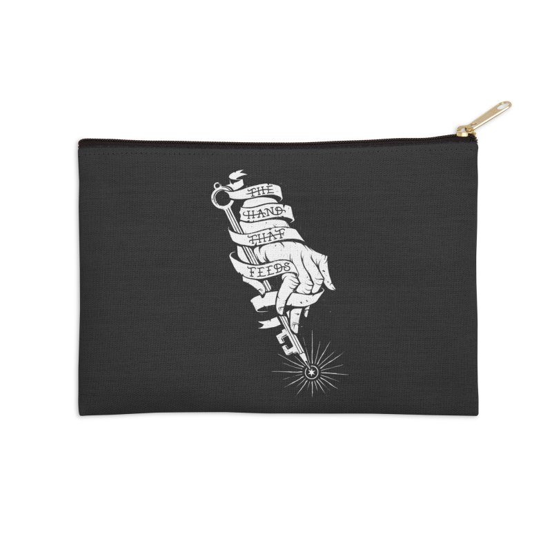 The Hand Accessories Zip Pouch by cuban0's Artist Shop