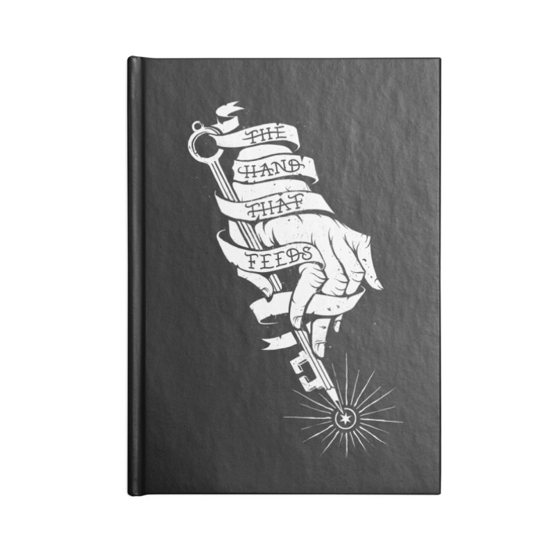 The Hand Accessories Blank Journal Notebook by cuban0's Artist Shop