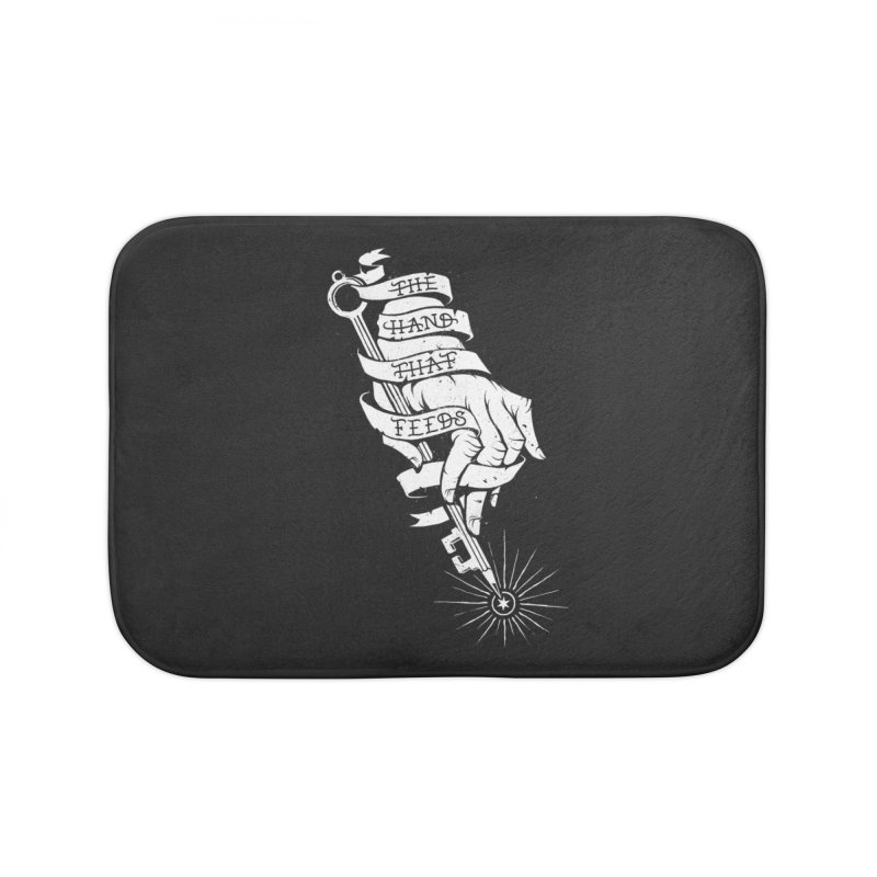 The Hand Home Bath Mat by cuban0's Artist Shop