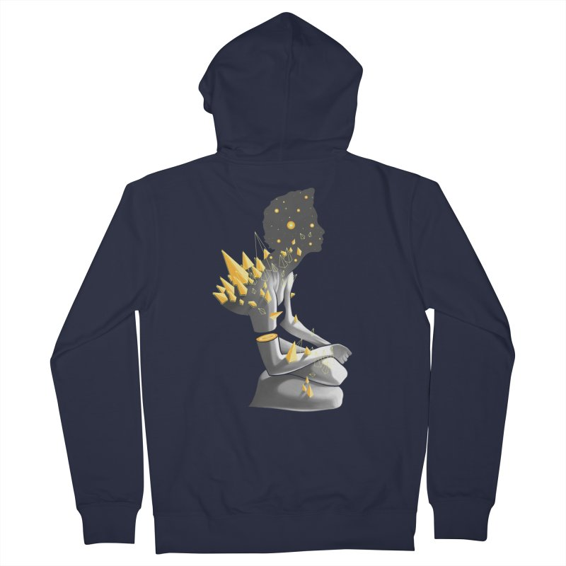 Somber Women's Zip-Up Hoody by cuban0's Artist Shop
