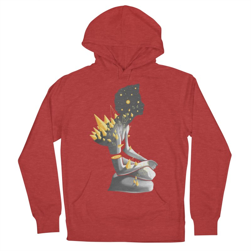 Somber Women's French Terry Pullover Hoody by cuban0's Artist Shop