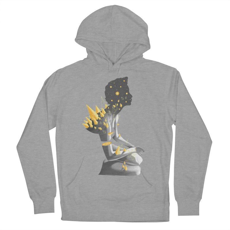 Somber Men's French Terry Pullover Hoody by cuban0's Artist Shop