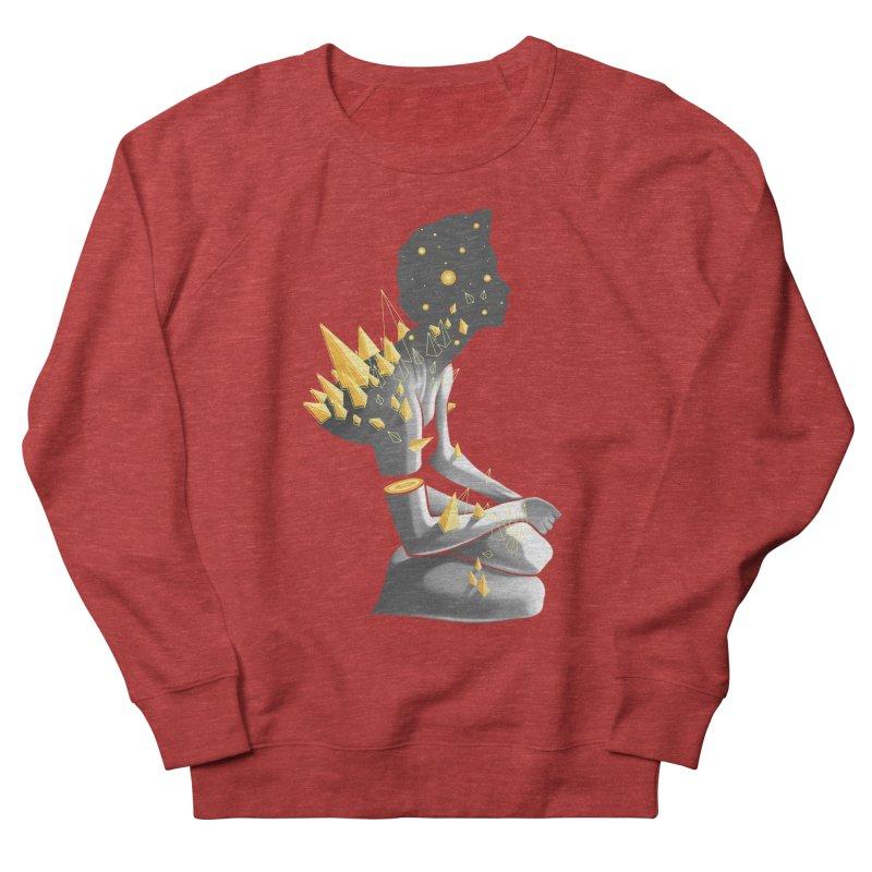 Somber Women's French Terry Sweatshirt by cuban0's Artist Shop