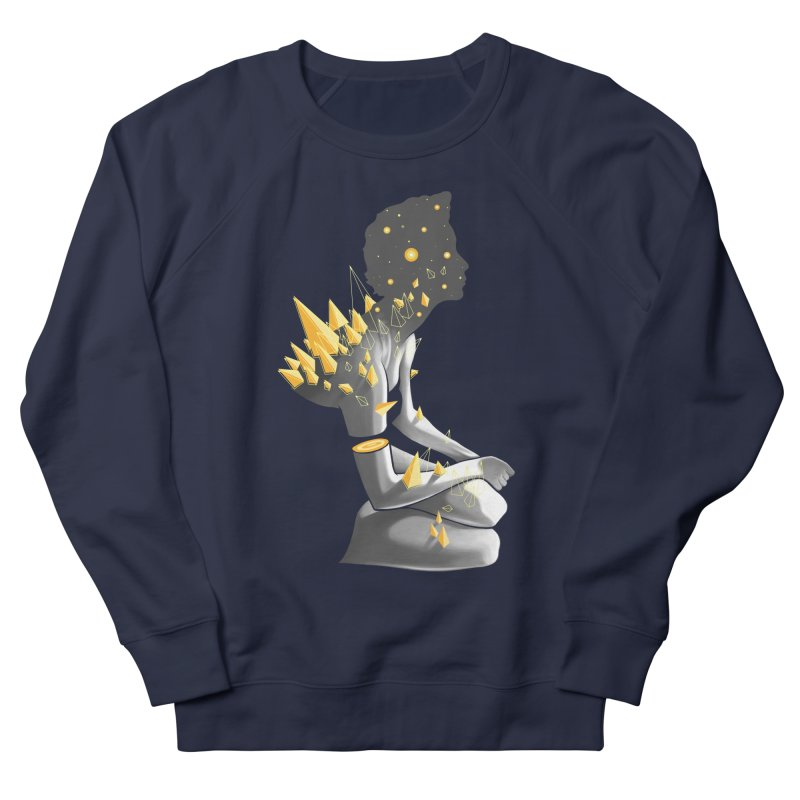 Somber Women's French Terry Sweatshirt by cuban0's Artist Shop