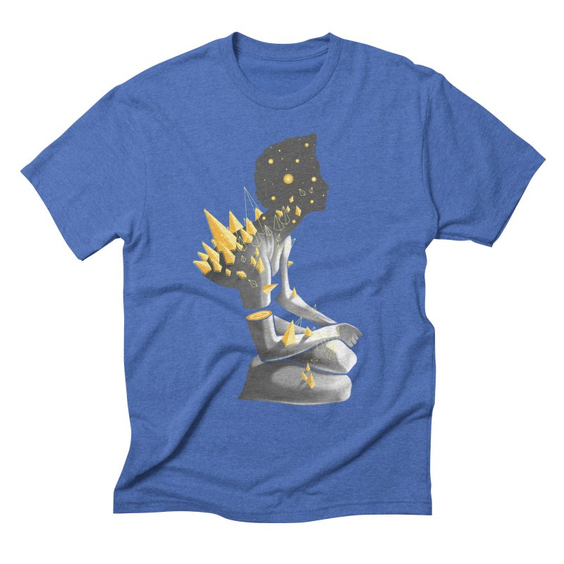 Somber Men's Triblend T-Shirt by cuban0's Artist Shop