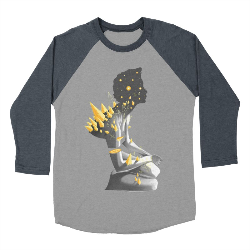 Somber Men's Baseball Triblend Longsleeve T-Shirt by cuban0's Artist Shop