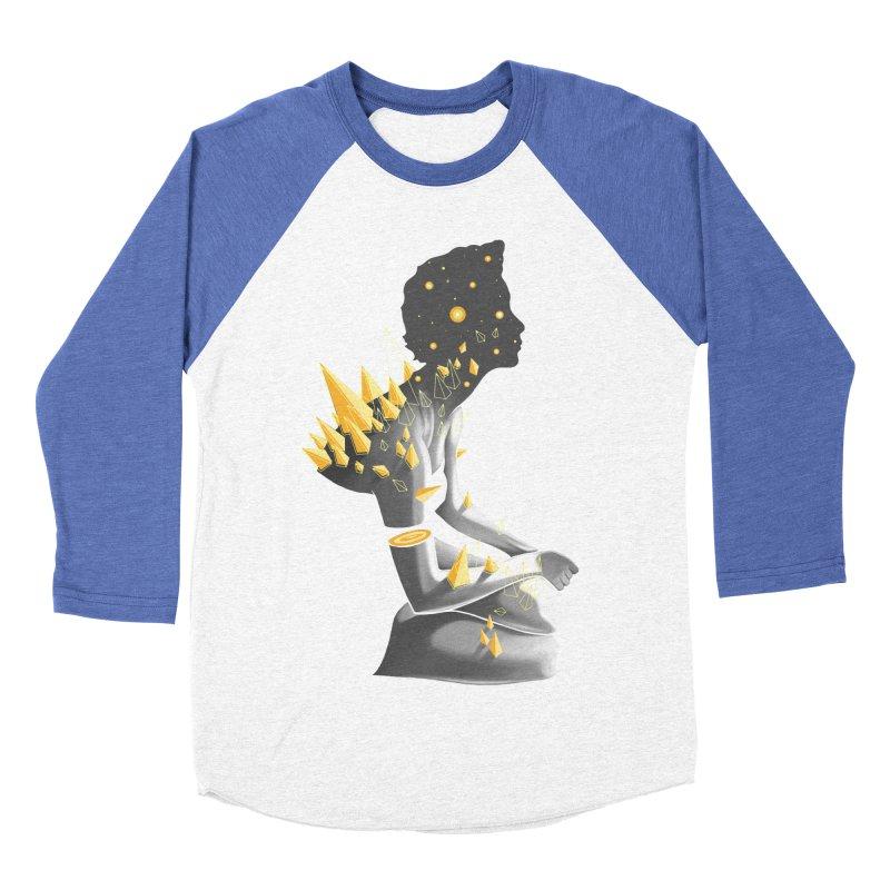 Somber Men's Baseball Triblend T-Shirt by cuban0's Artist Shop