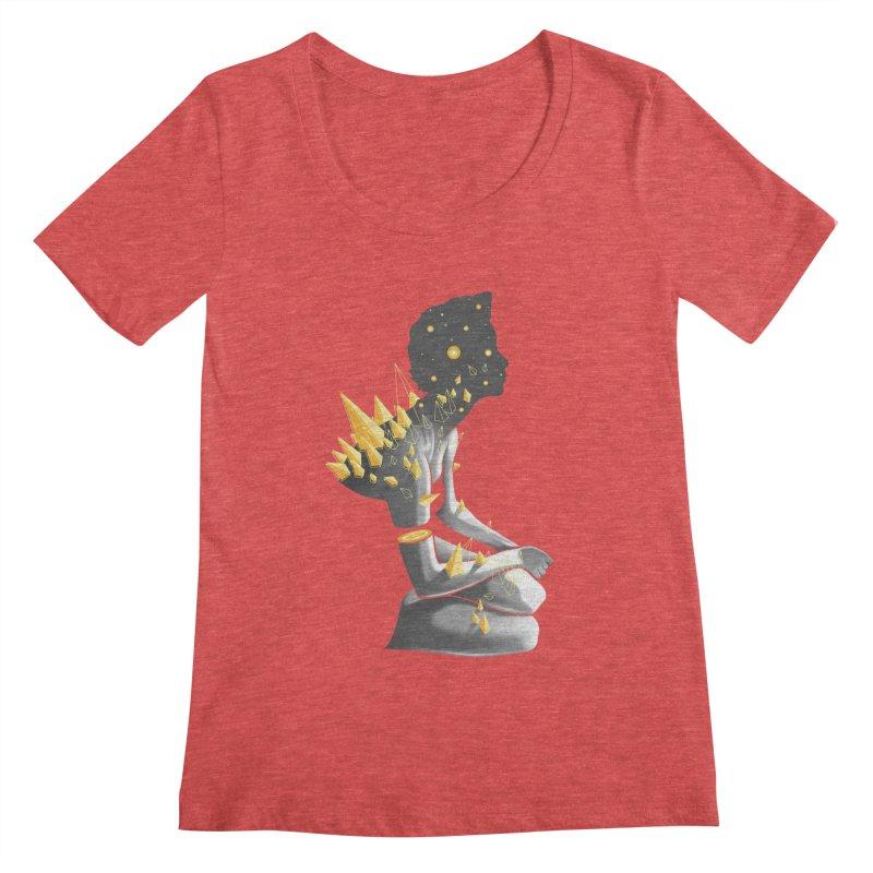 Somber Women's Scoopneck by cuban0's Artist Shop
