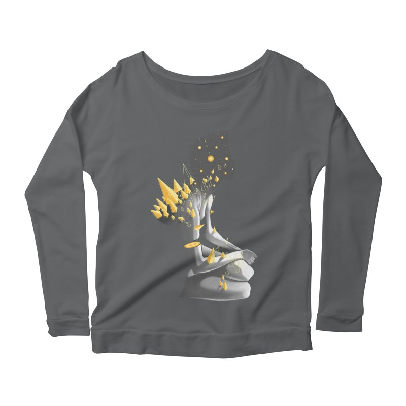 Somber Women's Scoop Neck Longsleeve T-Shirt by cuban0's Artist Shop