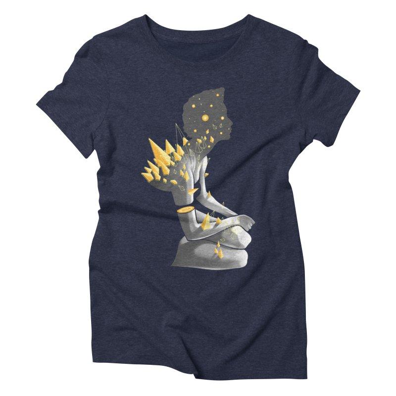 Somber Women's Triblend T-Shirt by cuban0's Artist Shop