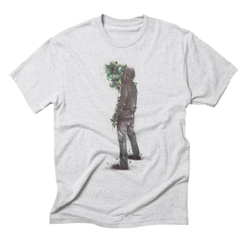 Flourish Men's Triblend T-shirt by cuban0's Artist Shop