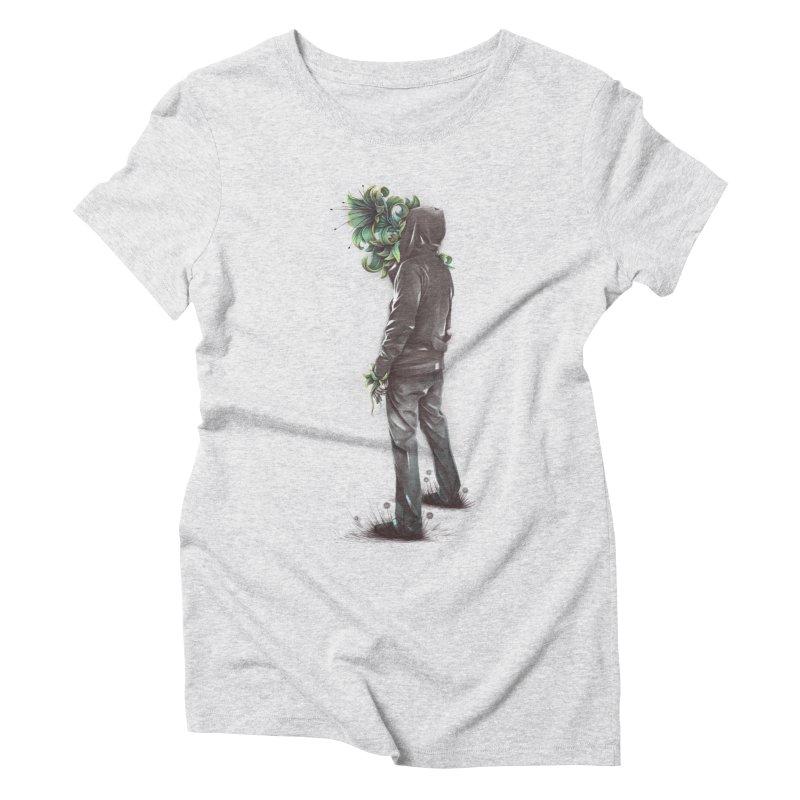 Flourish Women's Triblend T-Shirt by cuban0's Artist Shop