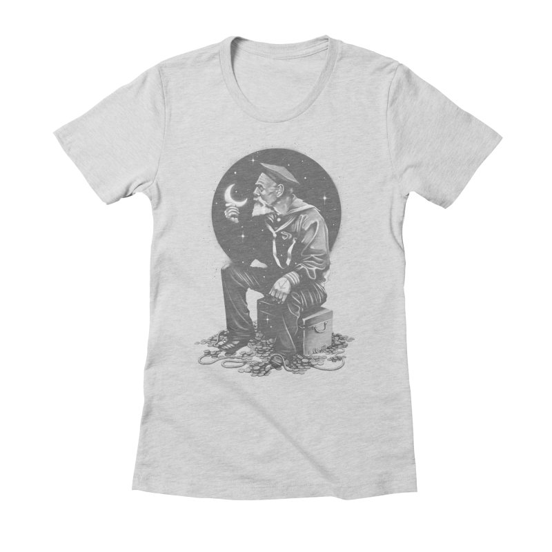Not All Treasure is Silver & Gold Women's Fitted T-Shirt by cuban0's Artist Shop