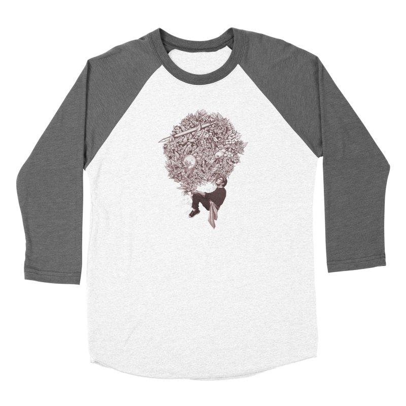 Aroma Men's Baseball Triblend Longsleeve T-Shirt by cuban0's Artist Shop