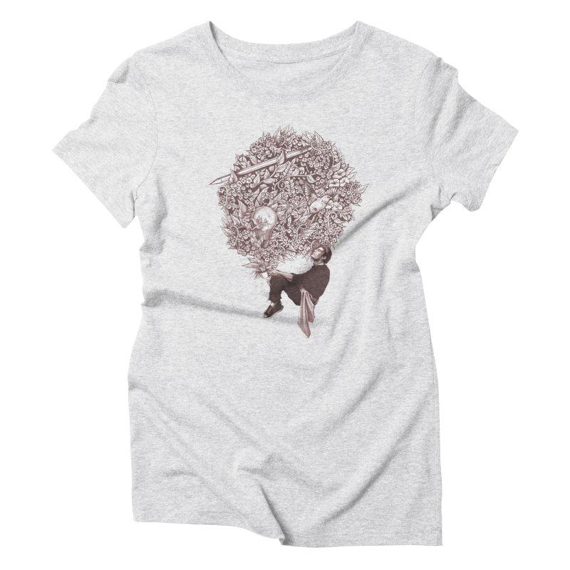 Aroma Women's Triblend T-Shirt by cuban0's Artist Shop