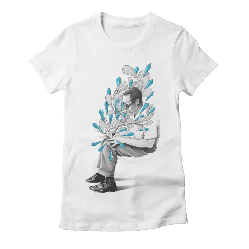 Written Women's Fitted T-Shirt by cuban0's Artist Shop