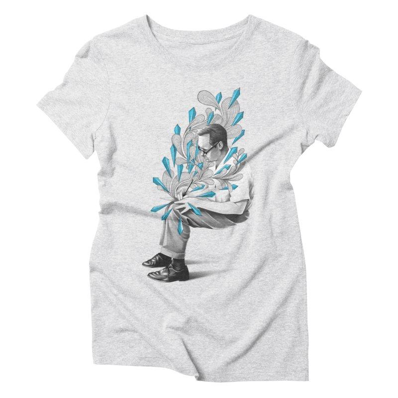 Written Women's Triblend T-Shirt by cuban0's Artist Shop