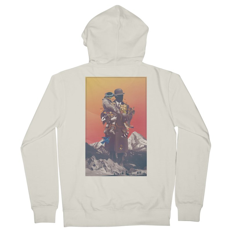 Oblivion Women's French Terry Zip-Up Hoody by cuban0's Artist Shop