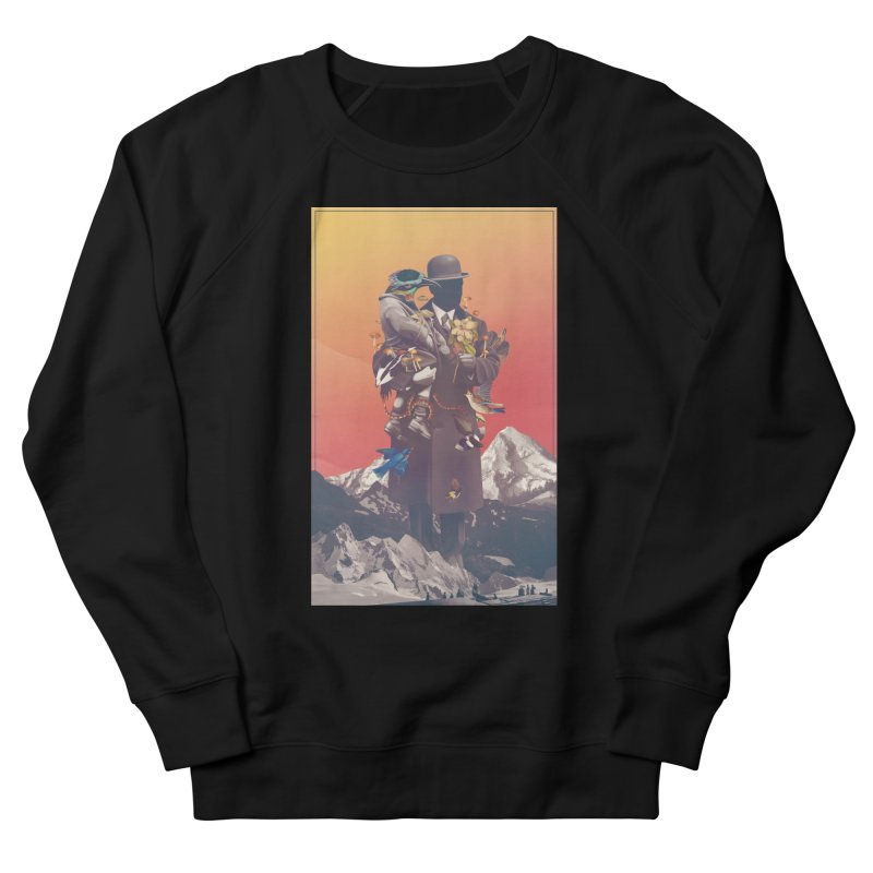 Oblivion Men's French Terry Sweatshirt by cuban0's Artist Shop