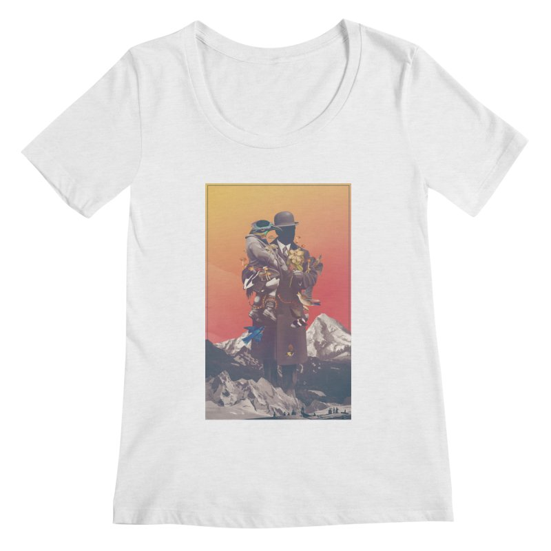 Oblivion Women's Scoop Neck by cuban0's Artist Shop