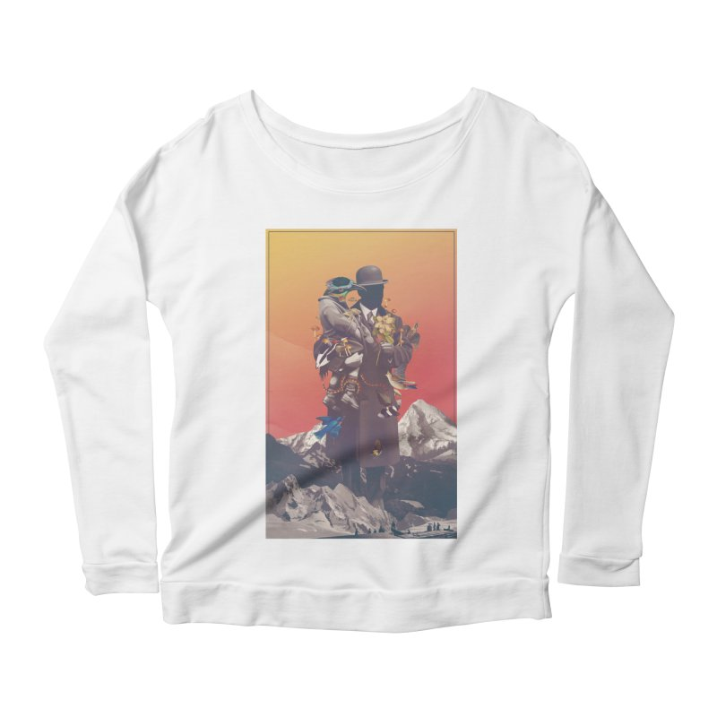 Oblivion Women's Scoop Neck Longsleeve T-Shirt by cuban0's Artist Shop