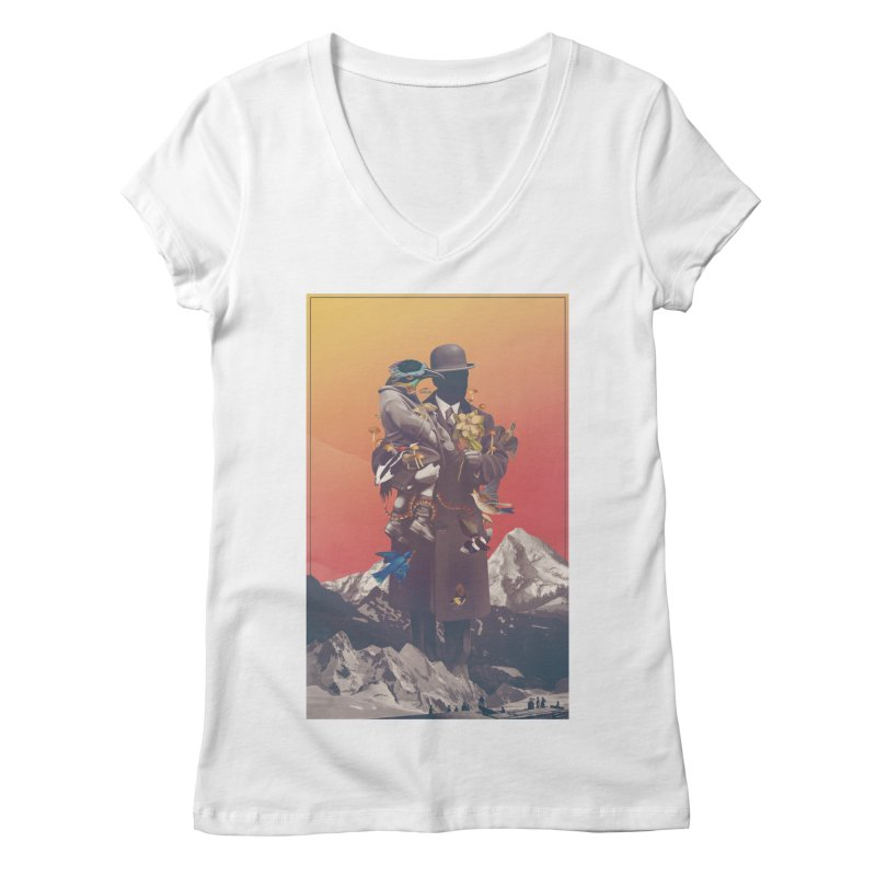 Oblivion Women's Regular V-Neck by cuban0's Artist Shop