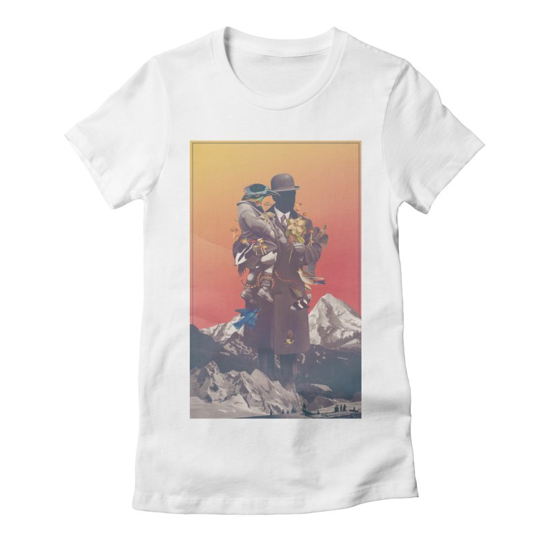 Oblivion Women's Fitted T-Shirt by cuban0's Artist Shop