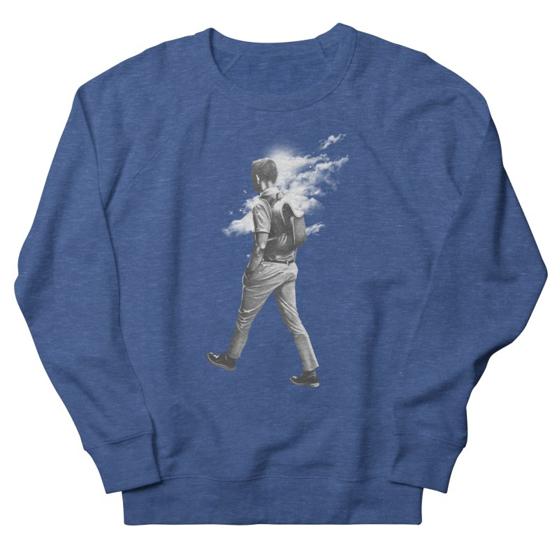 Stroll Men's French Terry Sweatshirt by cuban0's Artist Shop