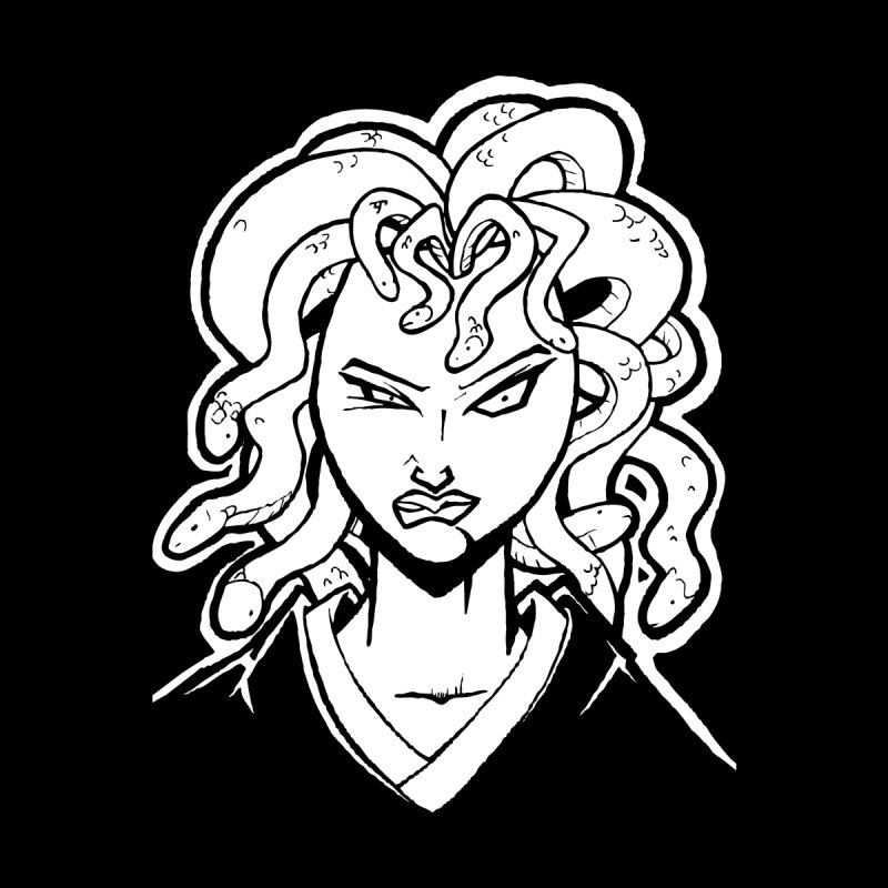 Medusa Men's T-Shirt by cubedwellingsavage's Artist Shop