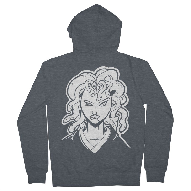 Medusa Women's Zip-Up Hoody by cubedwellingsavage's Artist Shop