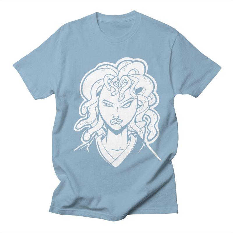 Medusa Men's T-shirt by cubedwellingsavage's Artist Shop