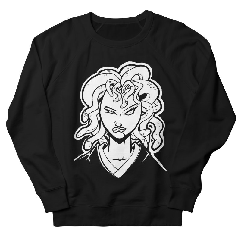 Medusa Men's Sweatshirt by cubedwellingsavage's Artist Shop