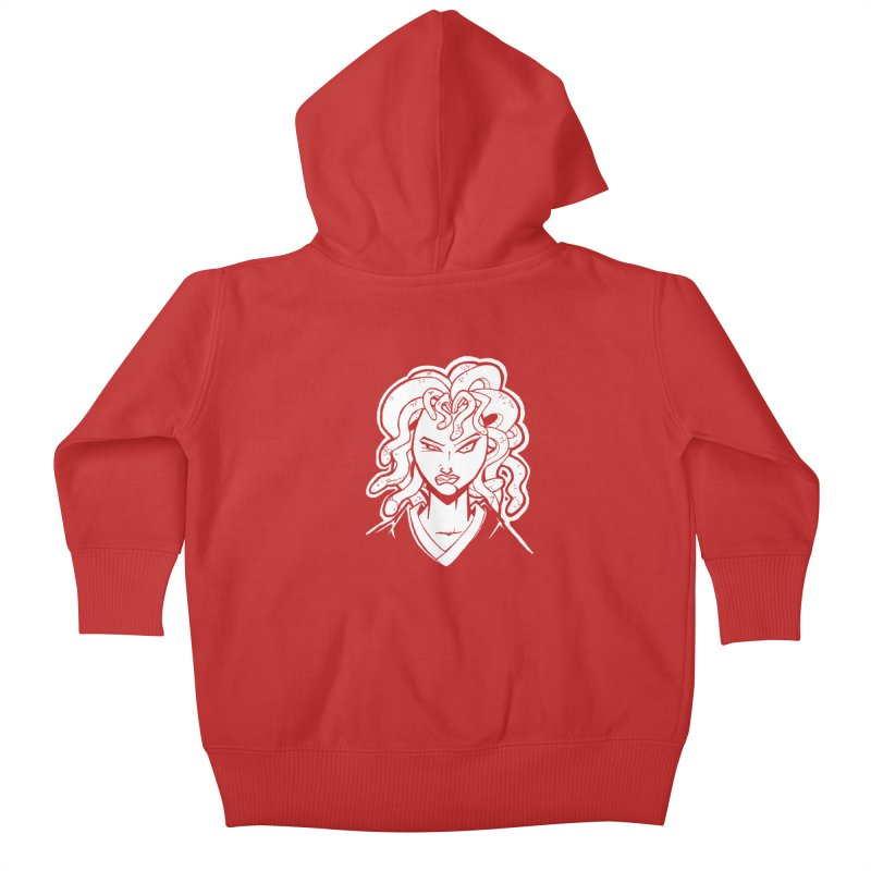 Medusa Kids Baby Zip-Up Hoody by cubedwellingsavage's Artist Shop