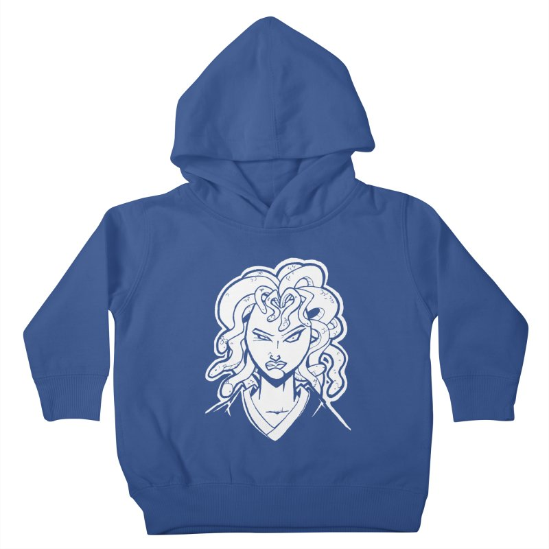 Medusa Kids Toddler Pullover Hoody by cubedwellingsavage's Artist Shop