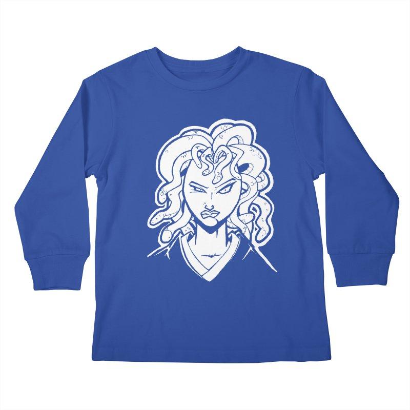 Medusa Kids Longsleeve T-Shirt by cubedwellingsavage's Artist Shop