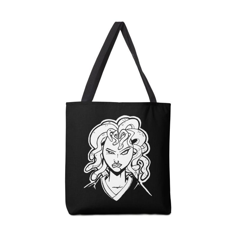 Medusa Accessories Bag by cubedwellingsavage's Artist Shop