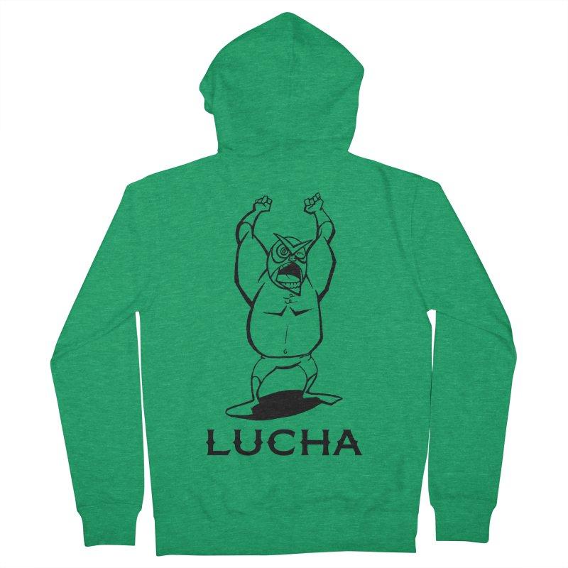 Lucha Women's Zip-Up Hoody by cubedwellingsavage's Artist Shop