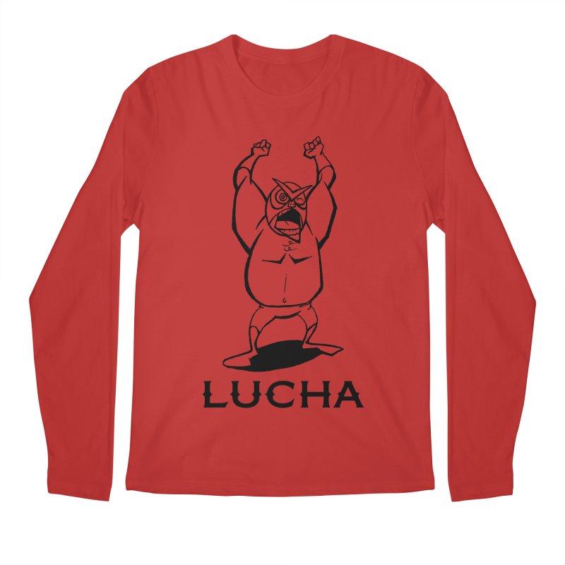 Lucha Men's Longsleeve T-Shirt by cubedwellingsavage's Artist Shop