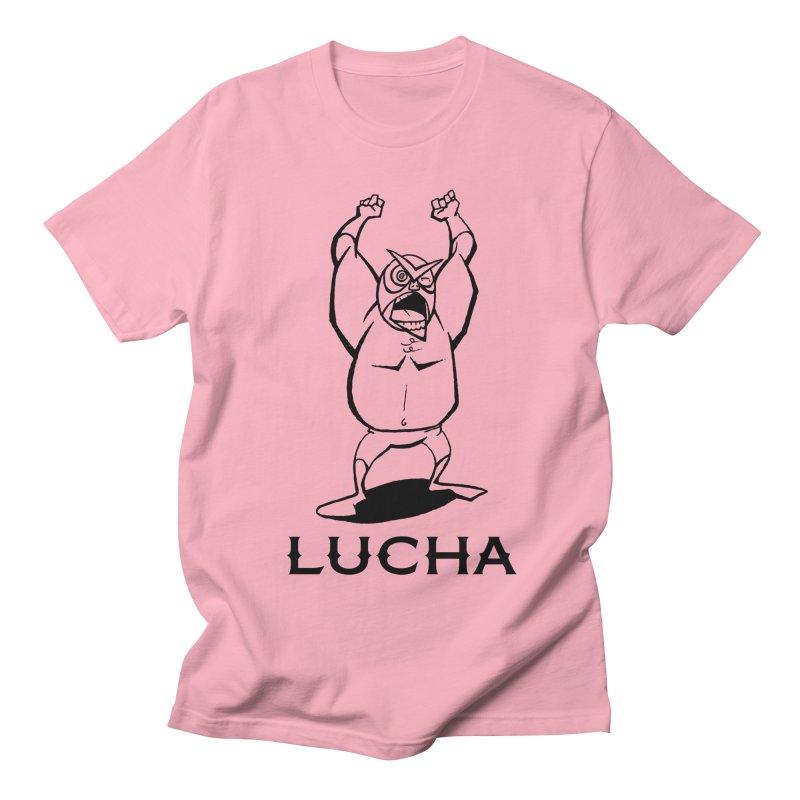 Lucha Men's T-Shirt by cubedwellingsavage's Artist Shop
