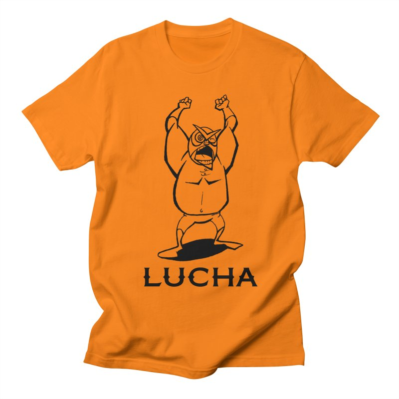 Lucha Men's T-shirt by cubedwellingsavage's Artist Shop