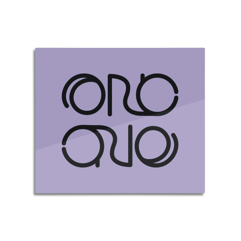 Orc.One Worm Logo Home Mounted Acrylic Print by cubelight's Artist Shop