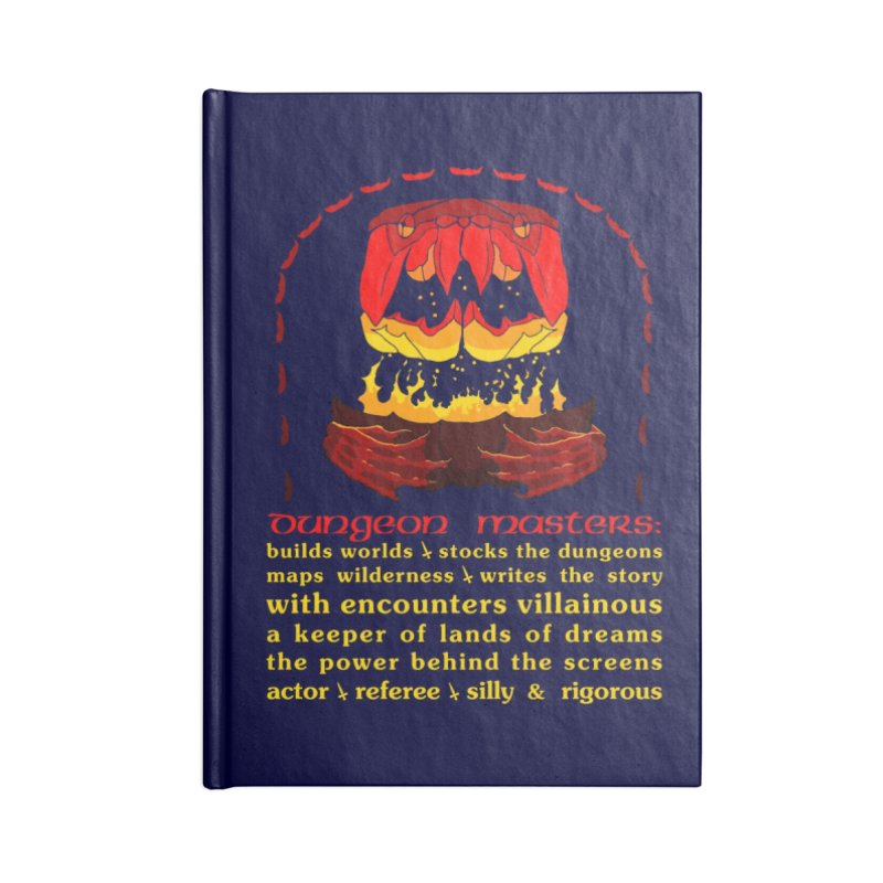 The Dungeon Masters Limerick Accessories Notebook by cubelight's Artist Shop