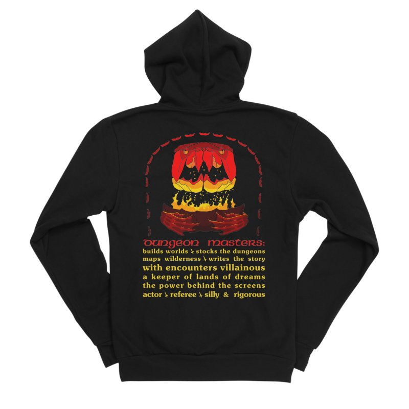 The Dungeon Masters Limerick Women's Zip-Up Hoody by cubelight's Artist Shop