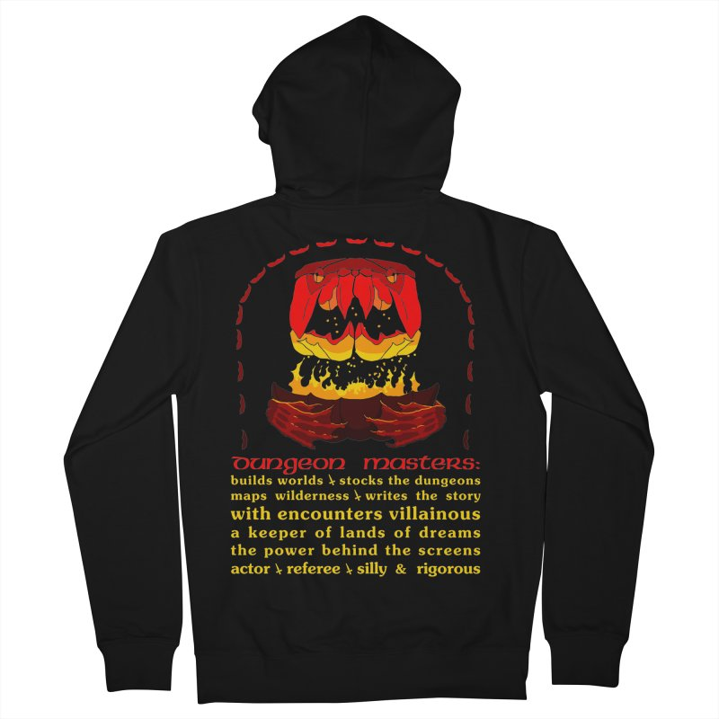 The Dungeon Masters Limerick Men's Zip-Up Hoody by cubelight's Artist Shop