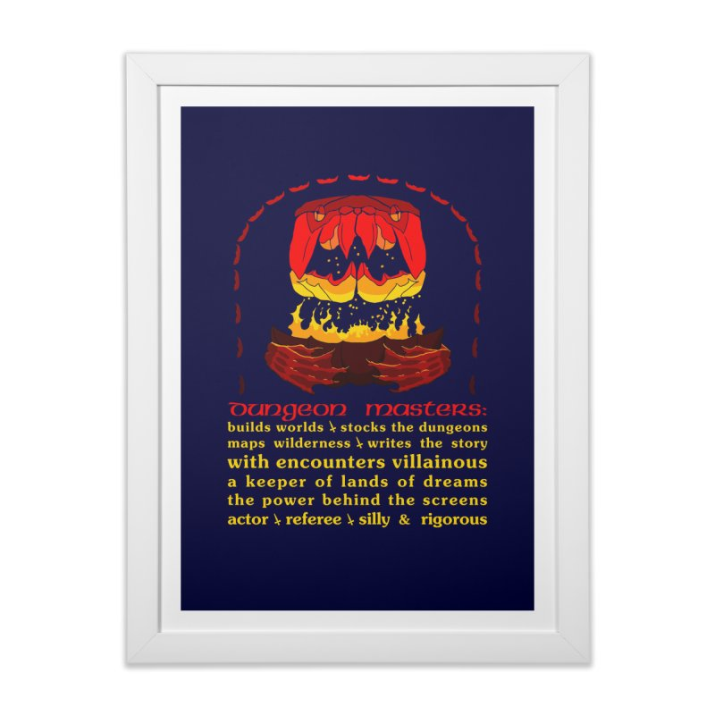 The Dungeon Masters Limerick Home Framed Fine Art Print by cubelight's Artist Shop