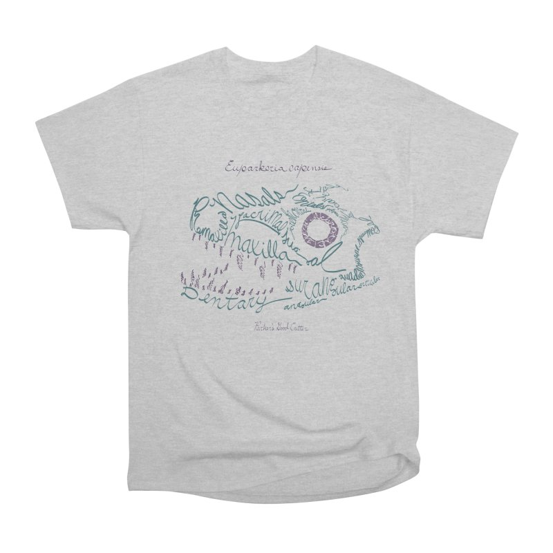 Skull Calligram: Parker's Good Animal (revised) Men's T-Shirt by cubelight's Artist Shop